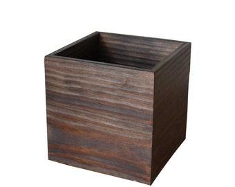 "Wooden Boxes - 8""x8"" - Centrepieces - Wedding Centrepieces, Table center piece- Flower box, Succulent box, Home decor, Centrepiece"