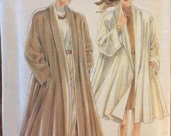 Rare VTG 6938 Simplicity New Look (1980's) misses coat.  Size S-M-L.   Complete, unused, FF. Excellent condition.