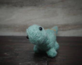 Dinosaur, Dinosaur Decor, Needle Felt Dinosaur, Wool Dino, Cubile Decor, Felt Dino, Mini Dinosaur, Dino Sculpture, Soft Dinosaur Sculpture