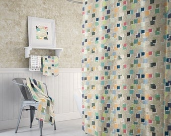 extra long shower curtain abstract shower curtains geometric shower mens bathroom decor mens decor beige bathroom bath mat fabric shower