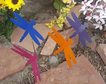Dragonfly wall and yard art.