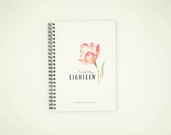 2018 Diary - Weekly Planner 2018 Hardcover (FLORAL)