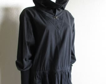 vintage 80s ISSEY Sport avant-garde Japanese dress minimal fashion- issey miyake AS IS small
