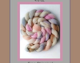 Corriedale Roving - FREE US SHIPPING - 4 oz. Ready to Ship!