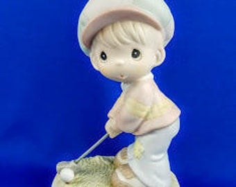 Lord Help Me To Stay On Course Precious Moments Figurine