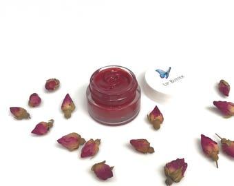 ROSE LIP BALM, Lip Gloss, Natural Lip Balm, Organic Lip Butter, Organic Lips, Natural Lip Butter, Lip Treatment, Tinted Lip Balm