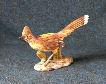 Vintage Josef Originals Ceramic Roadrunner Figurine
