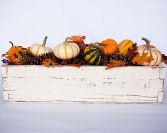 Fall Mantel Decor; Fall Centerpiece; Fall Table Centerpiece; Wood Centerpiece Box for Table; Table Centerpiece; Fall Farmhouse Decor; Box