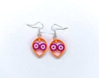 Little martian earrings
