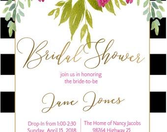 Bridal/Baby Shower Invitation