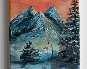 Winter Warmth - Landscape Painting