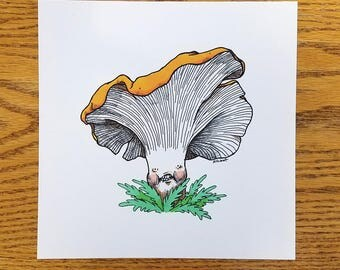 Chanterelle — Art Print