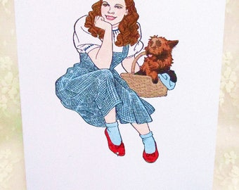 Dorothy and Toto Card: Add a Greeting or Leave Blank