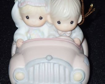 Precious Moments 1990 Our First Christmas Together Ornament #526324