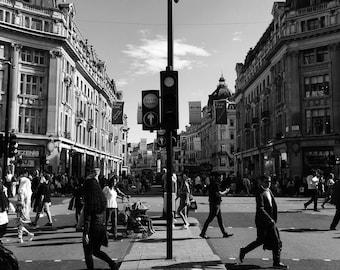 London Print, City Print, Fine Art Print, London Street, London Photography, London Street Photography, London Street Art, Oxford Circus