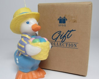 Avon Easter Duck Candle, Avon Collectible,Avon Gift Candle 1990's