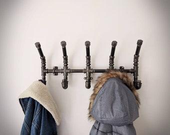 Coat Rack Industrial   Wall Mounted Coat Rack   Wall Coat Rack   Coat Hanger   Wall Rack   Coat Rack For Wall   Coat Storage   Hat Rack