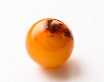 Natural baltic amber ball 16g