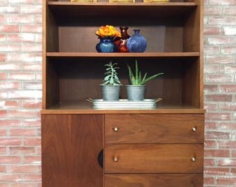 Stanley Furniture Mid Century Modern China Cabinet, Mid Century Modern  Dining Room Hutch, Mcm