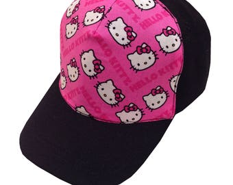 Hello Kitten Ball Cap/Toddler Size