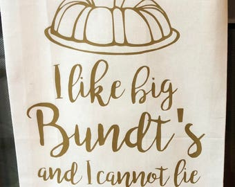 Big Bundt's- Kitchen Tea Towel