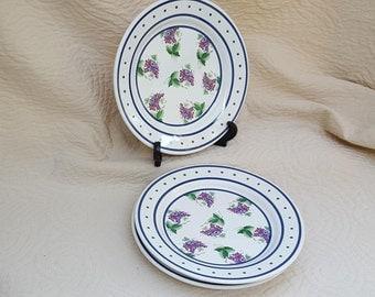 Winterthur Plates 1995 Grapes