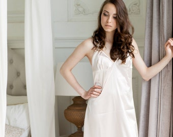 Satin gown Sleap dress Long gown