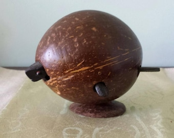 Bobbing-Head Turtle of Coconut Shell