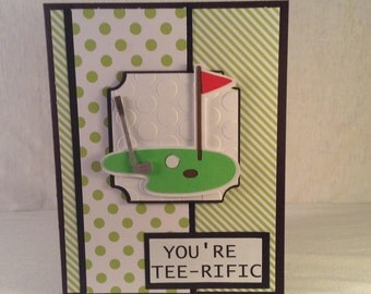 You're Tee-Rific FATHER'S DAY CARD