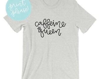 Caffeine Queen Short-Sleeve Unisex T-Shirt