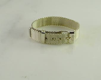 Sterling Bracelet (adjustable)