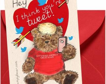 Trumpy Bear Valentines