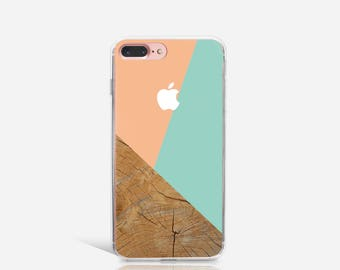 iPhone 7 Case Clear, Silicone iPhone 6 Case, Cute iPhone 6s Case, iPhone 7 Plus Case, iPhone SE Case, Christmas Gift For Her - KT091