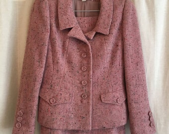 Vintage Oscar de la Renta wool Skirt Suit