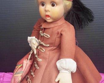 Lovely Lenci Doll - Googly Eye - Must See!