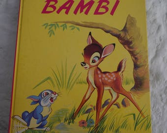 Bambi - 1969 french book