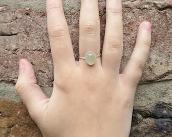 Rutilated Quartz Ring - Women's Ring, Sterling Silver Ring, Gemstone Ring, Gifts for Her, Rutilated Quartz Jewellery, Quartz Ring