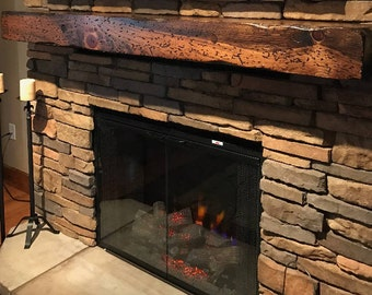 Mantel Shelf | Etsy  Fireplace Mantel Shelves
