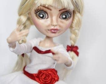 Annabelle - OOAK ever after monster high doll custom movie horror