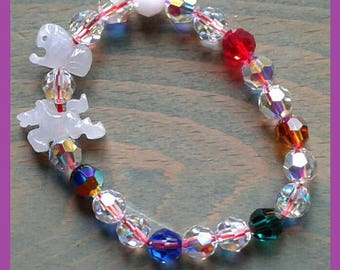 2018 6TW Combo Crystal Bracelet for Dragon and Rooster