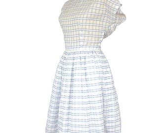 1950's Circle Skirt Summer Dress - Size 12/14