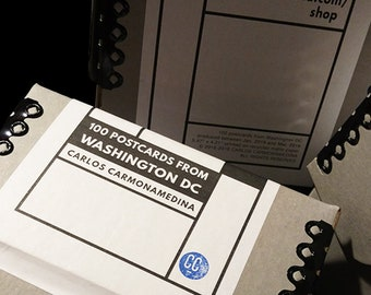 100 postcards from Washington DC - Limited Edition Box