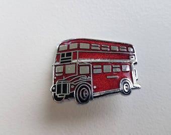 Double Decker Bus Pin