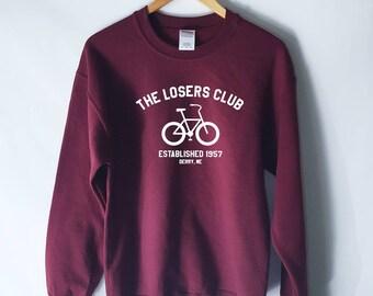 The Losers Club Sweatshirt - It Sweatshirt - Stephen Kings It - Halloween Sweatshirt - Pennywise Sweatshirt - You'll Float Too Creepy Clown