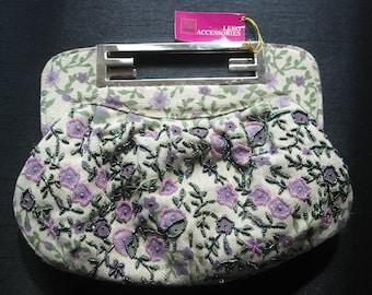 Vintage beaded Tapestry bag by Leko Accessories