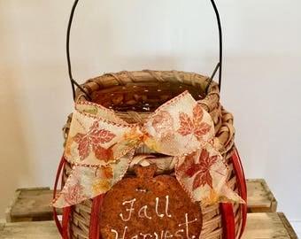 Cute Little Pumpkin Basket