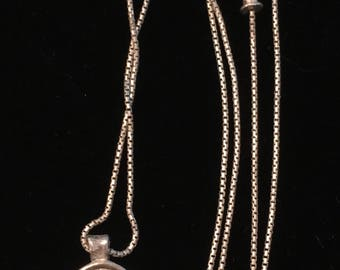 Sterling Silver Equestrian/Horse Charm or Pendant & Chain