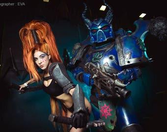 Lelith Hesperax Dark Eldar armor Warhammer 40000 based costume