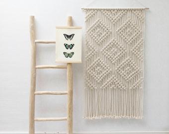 Contemporary fiber art by teddyandwool on etsy - Wandbehang modern ...
