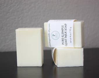 Pure Goat Milk Soap - 4 oz bar
